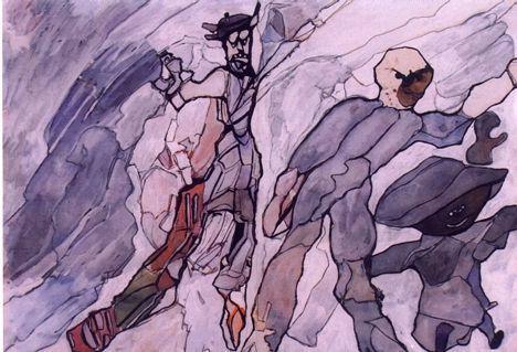 Predrag Goll, akvarelista, Slavonski Brod